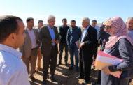 السيد محمد الطيبي رفقة رئيس المجلس الإقليمي للناظور يزوران