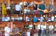 """ثانوية حسان بن ثابت بزايو تنظم حفل """" الوفاء و التميز"""" لتكريم متقاعديها و تلامذتها المتفوقين"""