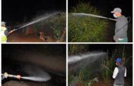 مصلحة النظافة التابعة لجماعة زايو تنظم حملة مكثفة لمحاربة الناموس بحي مارشال