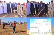 رئيس جماعة زايو و رئيس المجلس العلمي لإقليم الناظور يعطيان إشارة انطلاق أشغال بناء